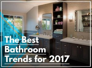 best bathroom trends in california
