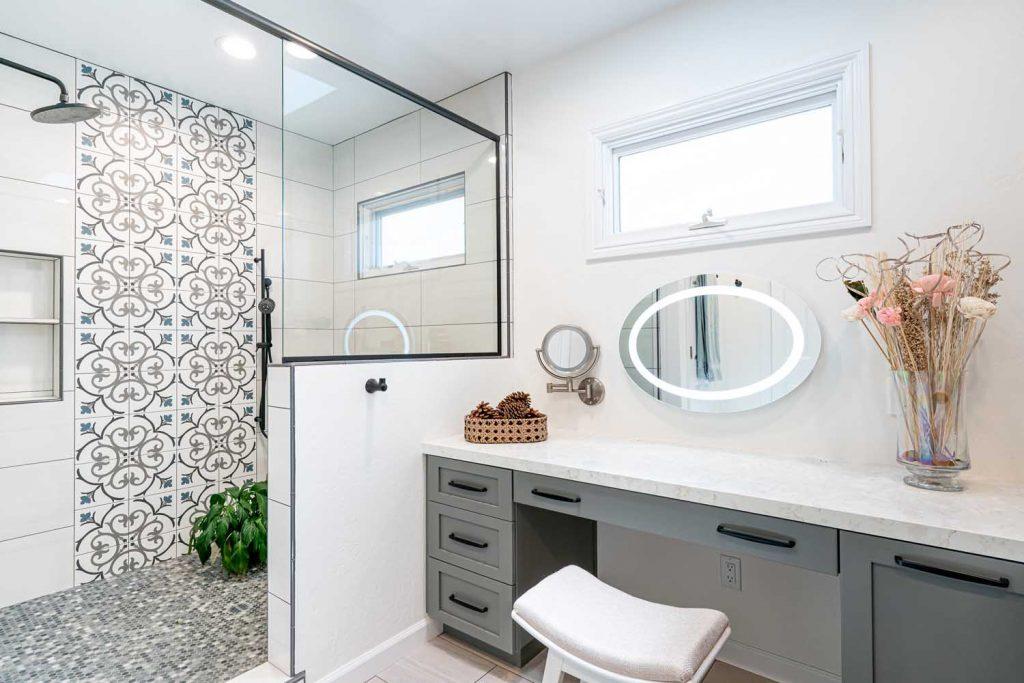 award-winning master bathroom remodel